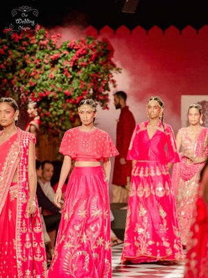 Anita dongre india couture week 2016