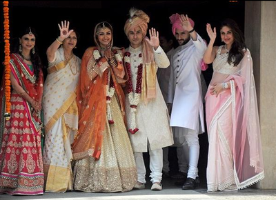most sophisticated wedding of delhi in 2014 dia mirza