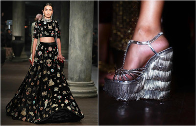 Sabyasachi christian louboutin collaboration 2016