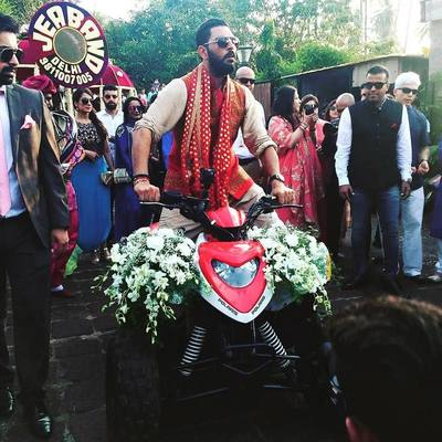 Groom entry  yuvraj singh