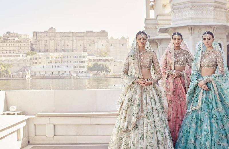 Sabyasachi's Newest Collection Is Perfect For Your 2017 ... Sabyasachi Lehenga