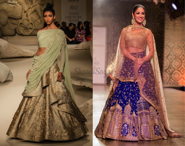 Best of india couture week 2016 for brides and grooms 2016 wedding fashion