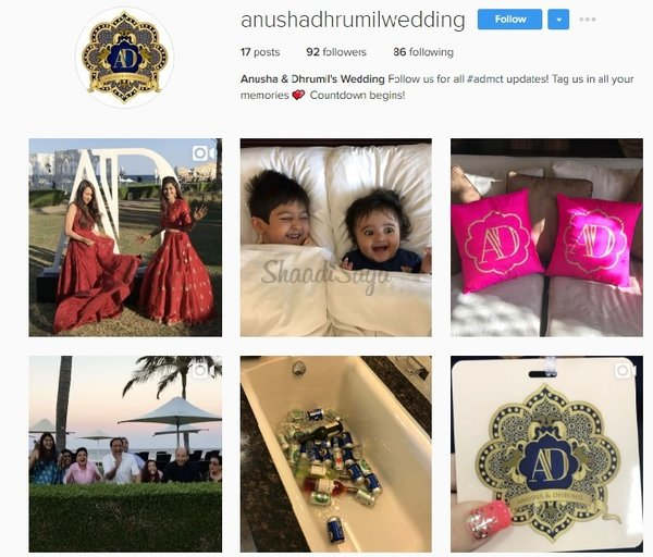 Instagram account for wedding pictures 1