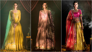 Anju modi   luxury and festive couture collection