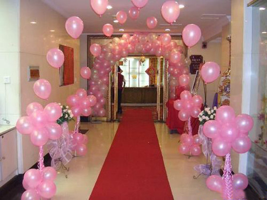 Creative events wedding decorators in delhi shaadisaga for 1st birthday hall decoration