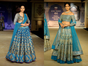Reynu taandon  india couture week 2017