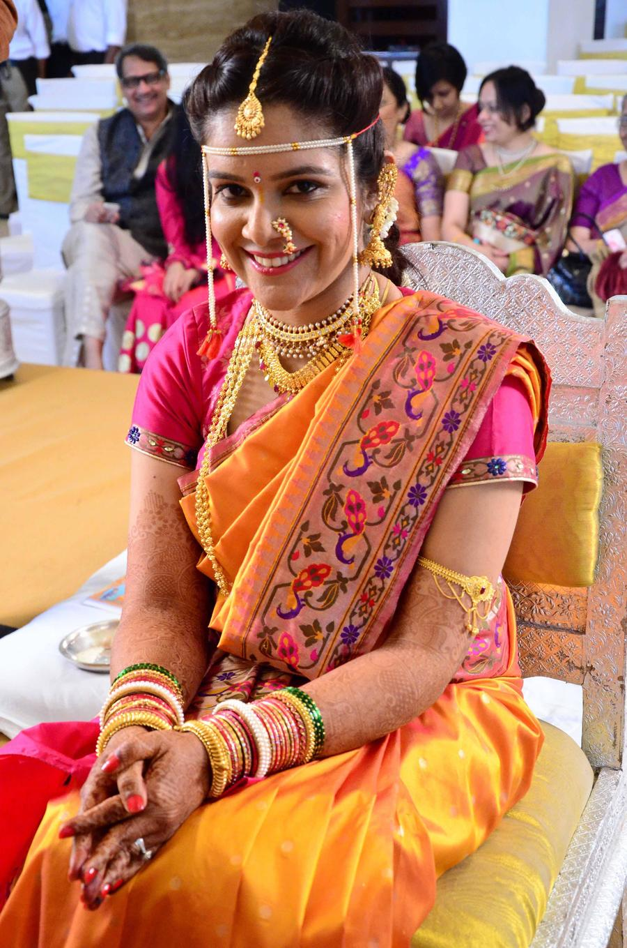 Indian bridal looks: Marathi bride