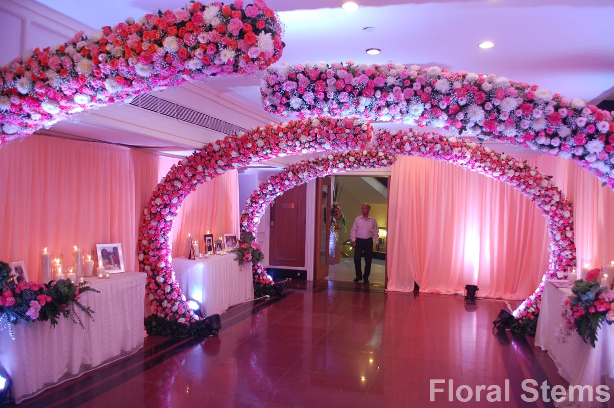 Floral stems wedding decorators in mumbai shaadisaga more from this decorator junglespirit Image collections
